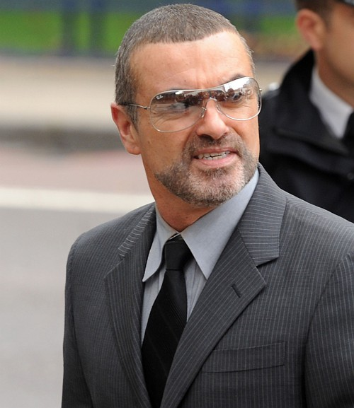 George Michael w RayBan RB3341 003/8G