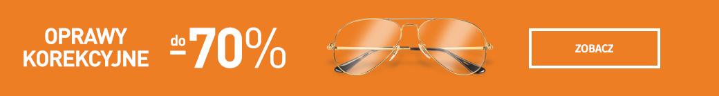 Okulary korekcyjne - do 70% taniej
