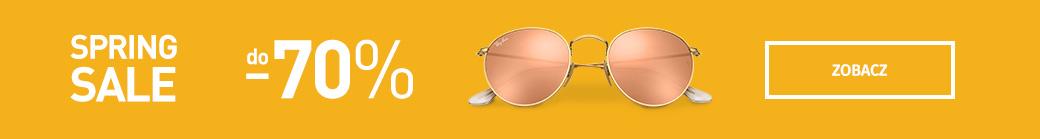 Okulary przeciwsloneczne - do 70% taniej