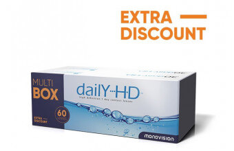 Daily HD™ - 60 soczewek - MultiBOX