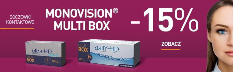 Kupuj soczewki MonoVision taniej w MultiBox