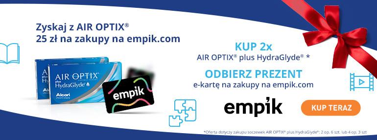 Karta Empik w prezencie