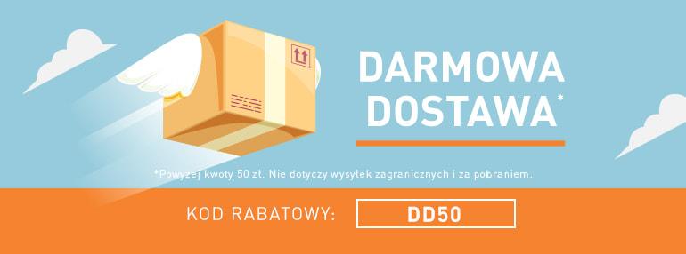 Darmowa Dostawa od 50zł!