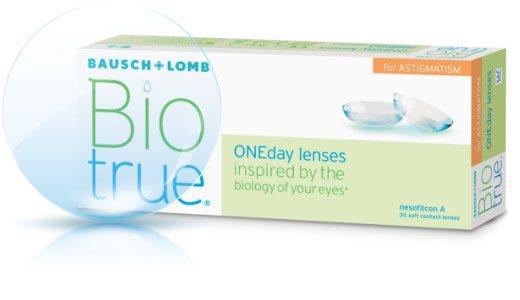 Biotrue® ONEday for Astigmatism
