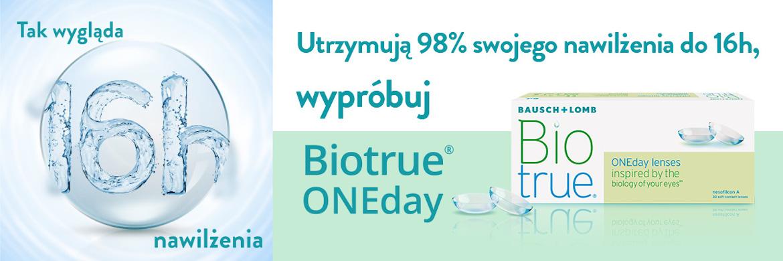 Biotrue ONEday 98% nawilżenia do 16 godzin