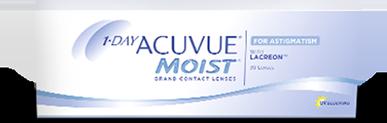 1-Day ACUVUE® MOIST for Astigmatism opakowanie 30 sztuk