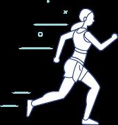Ikona bieganie