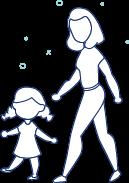 Ikona mama z dzieckiem
